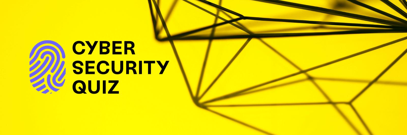 Bannerbild Cyber Security Quiz